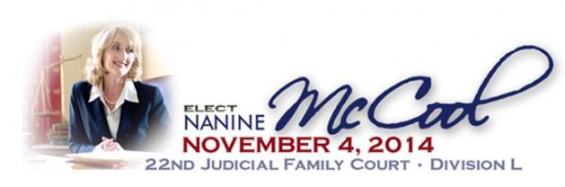 Nanine McCool For Judge