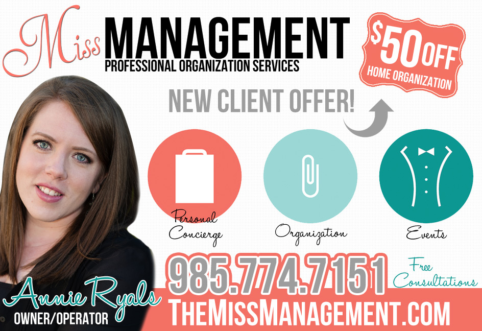 Miss Management –Professional Organization Services