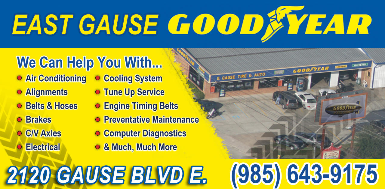 East Gause Goodyear Tire-Auto
